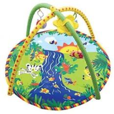 Развивающий коврик Весёлый ручеёк с игрушками