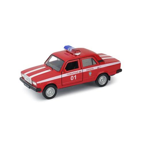 Инерционная машинка Welly 1:34-39 LADA 2107 Пожарная охрана