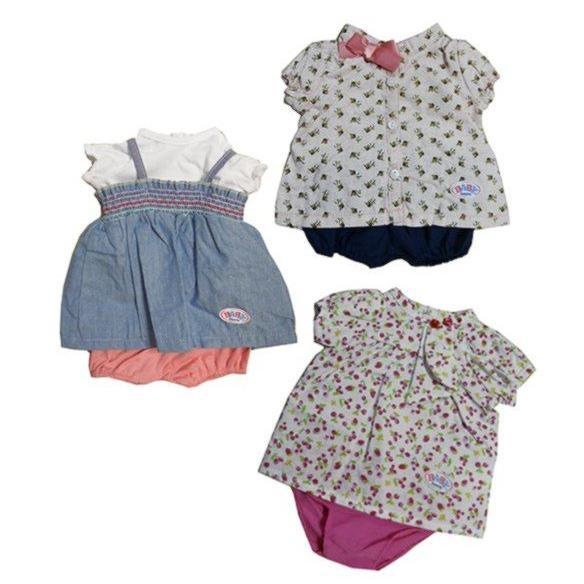 Модные летние платьица для куклы Baby Born