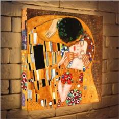 Световая картина «Поцелуй» - Г. Климт