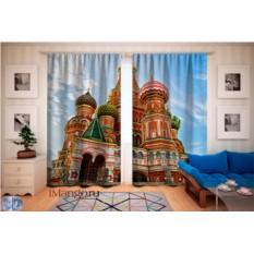Фотошторы Храм Василия Блаженного 2