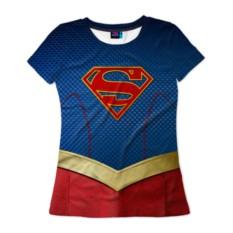 Женская футболка Супергел