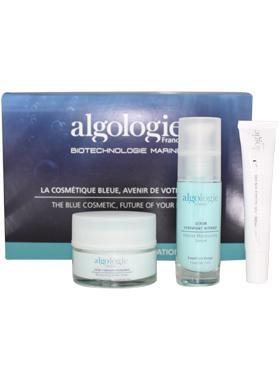 Косметический набор для лица «Увлажнение и Сияние», Algologie