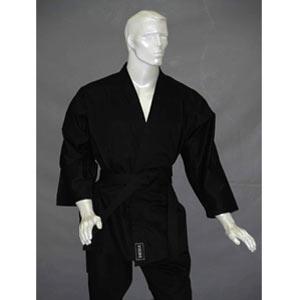 Кимоно для карате черное 2 уровень