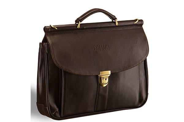 e52c433144ee Классический коричневый портфель Brialdi Bergamo | Подарки.ру