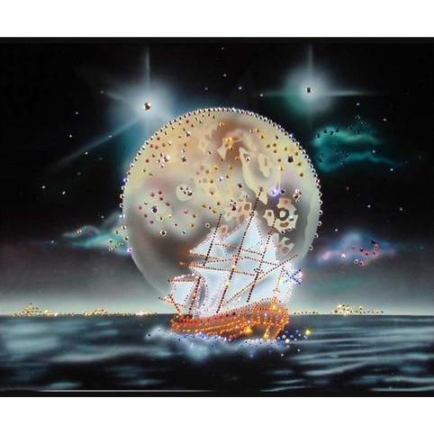 Картина Swarovski «Фентези. Морской пейзаж»