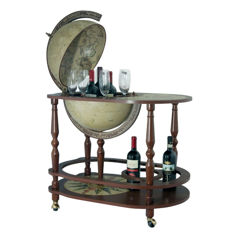 Глобус-бар со столиком Антик Zoffoli
