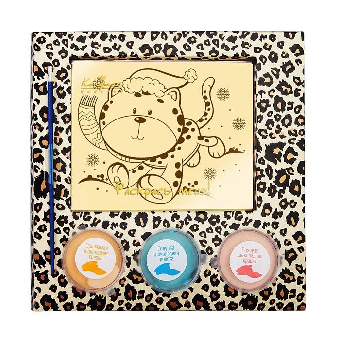 Шоколадный набор Шоколадная раскраска - Леопард