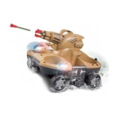Радиоуправляемый танк-амфибия Amphibious with Shooting