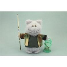 Мягкая игрушка Кот-рыбак