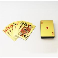 Игральные карты Евро золотой
