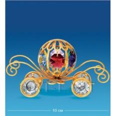 Фигурка с кристаллами Swarovski Карета