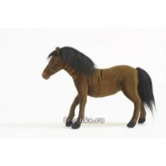 Мягкая игрушка Лошадь темно-коричневая от HANSA