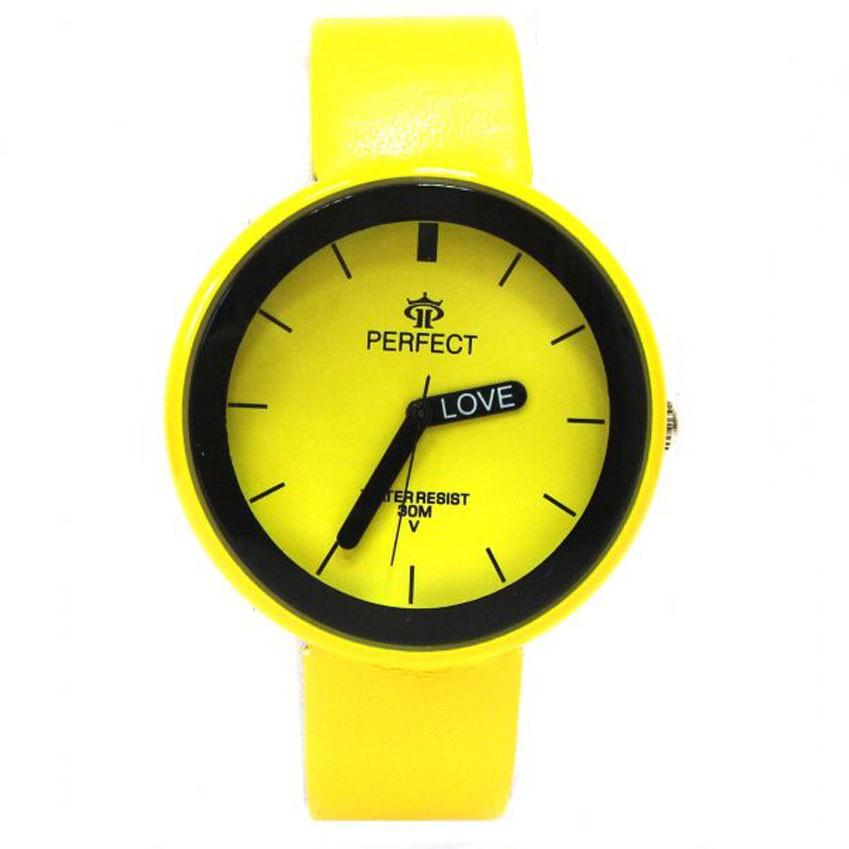 Часы Miusli Round Yellow