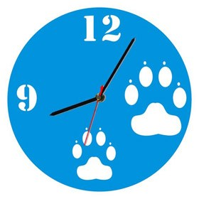 Часы настенные Следы