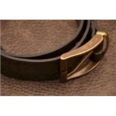 ElolE Belts. Ремень, кожа, коричневый (тип 7)