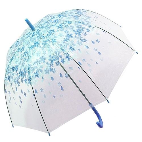 Купольный зонт Синие цветы