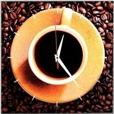 Часы Кофемания
