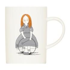 Фарфоровая кружка Алиса