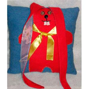 Подушка-заяц