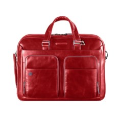 Красная сумка для ноутбука Piquadro Blue Square