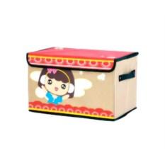 Короб для хранения детских вещей Весёлые облака