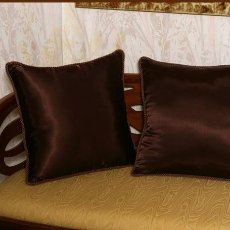 Подушки для софы, коричневые (2 шт)