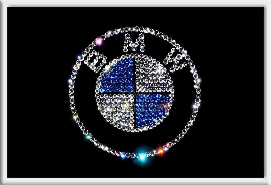 Картина из кристаллов Bmw