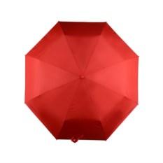 Красный складной автоматический зонт