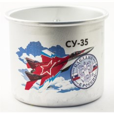 Алюминиевая кружка Сделано в России