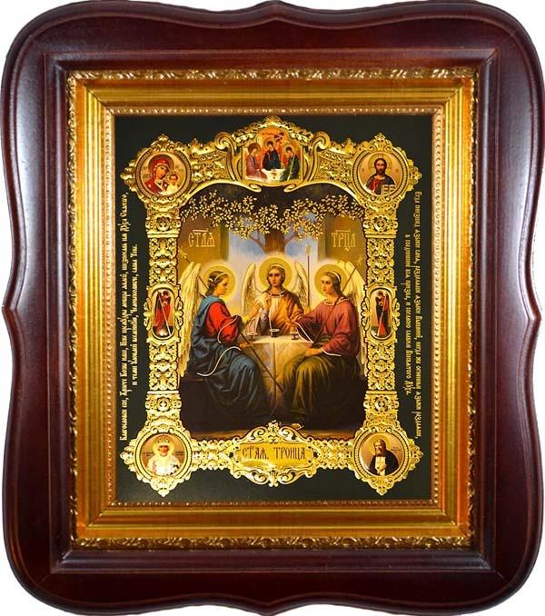 свет появились фото чудотворная икона святая троица мне