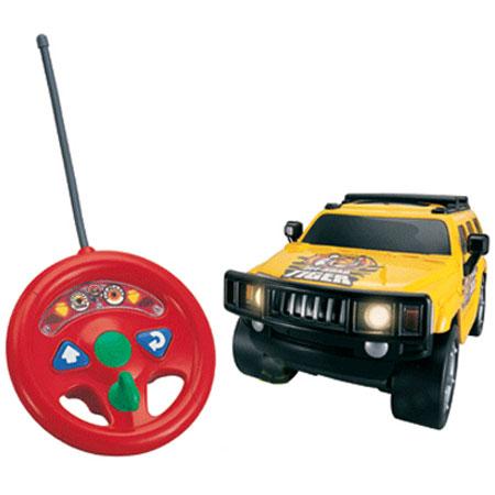 Машина Джип желтый на радиоуправлении