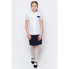 Блузка с короткими кружевными рукавами Nota Bene