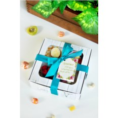 Подарочный набор мыла с вашим текстом Букет