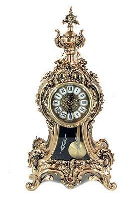 Каминные часы с маятником Золотой колос