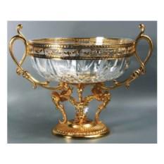 Изысканная ваза классического стиля из хрусталя Герцог