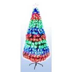 Оптоволоконная искусственная елка со светодиодами Водопад