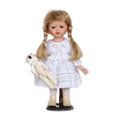 Фарфоровая кукла Ванга с мягконабивным туловищем