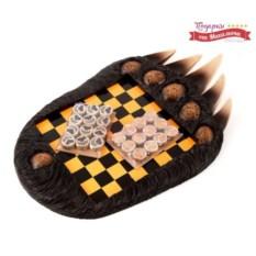 Настольная игра: шашки «Медвежья лапа»