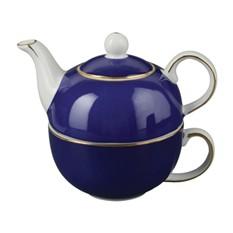 Синий подарочный набор для чая «Эгоист»