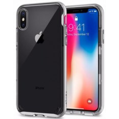 Чехол Spigen для iPhone X Neo Hybrid Crystal Gunmetal