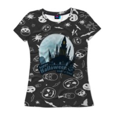 Женская футболка Нalloween