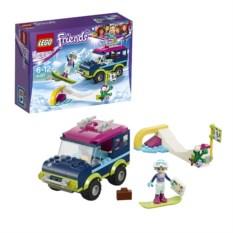 Конструктор Lego Friends Горнолыжный курорт. Внедорожник