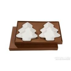 Новогодний набор тарелок «Пара»