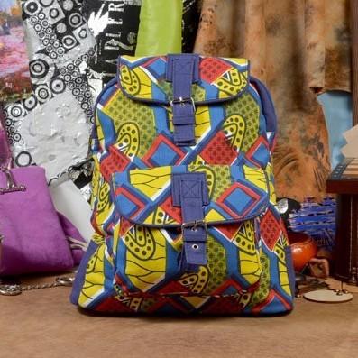 Текстильный рюкзак Яркая фантазия из коллекции Socotra