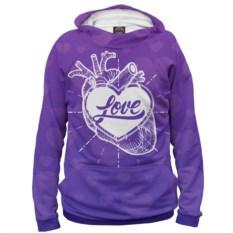 Худи Любовь в сердце