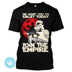Мужская футболка с рисунком Join the Empire