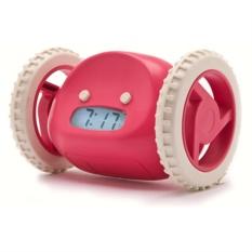 Розовый убегающий будильник Инопланетянин Clocky Pink