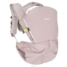 Бежево-серый рюкзак-кенгуру Tiny Hug Carrier