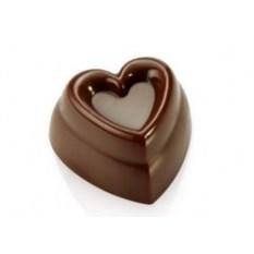 Поликарбонатная форма для конфет Сердце